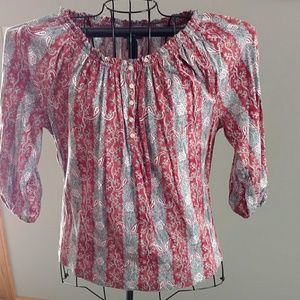 Chaps Boho Styled Top